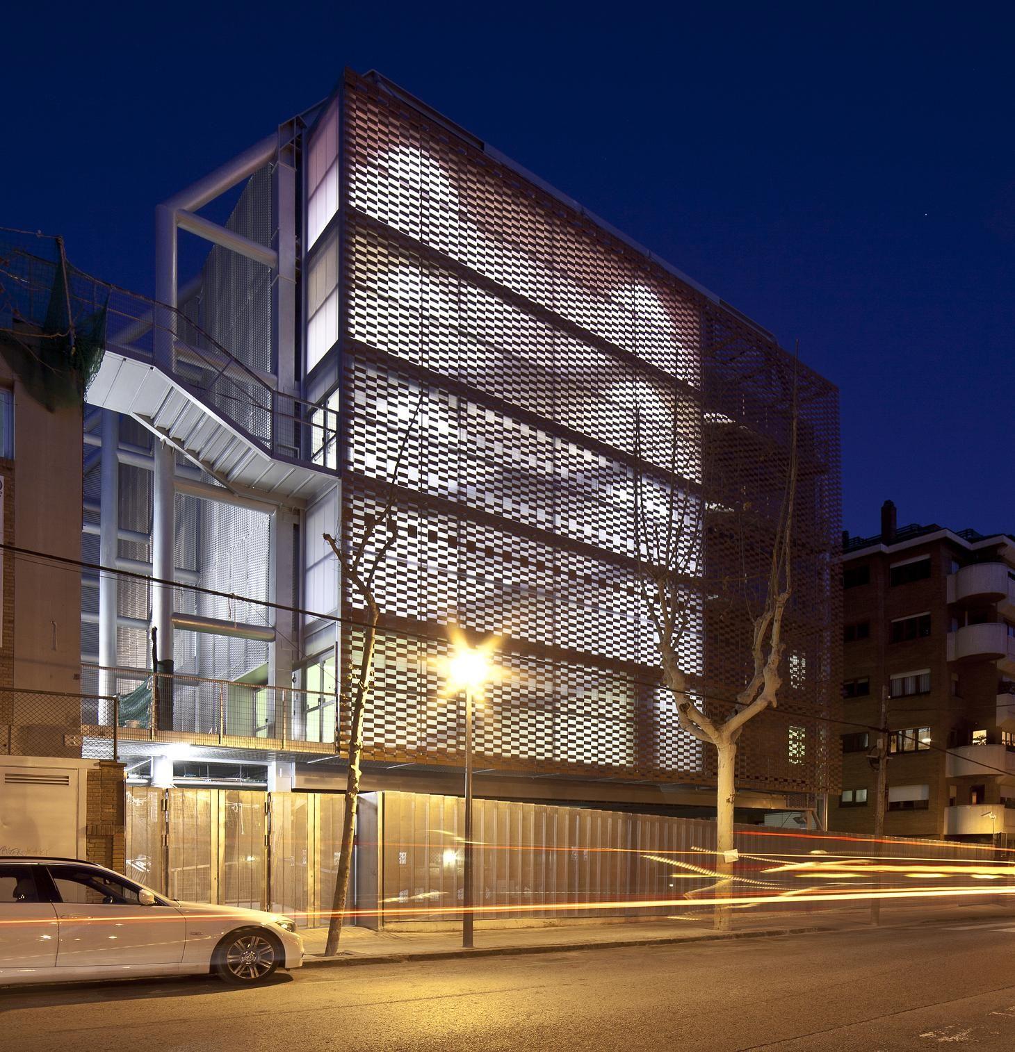 Flexbrick ampliaci n colegio teresianas de barcelona by - Escuela de arquitectura de barcelona ...