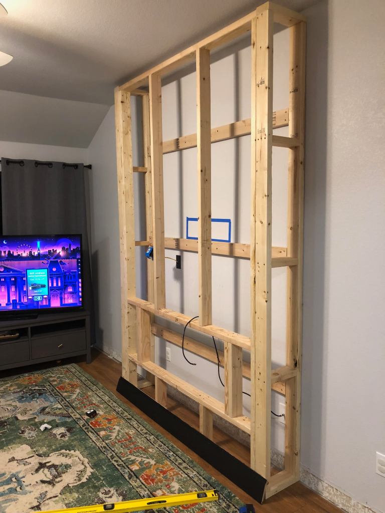 Diy Electric Fireplace Build Electric Fireplace Wall