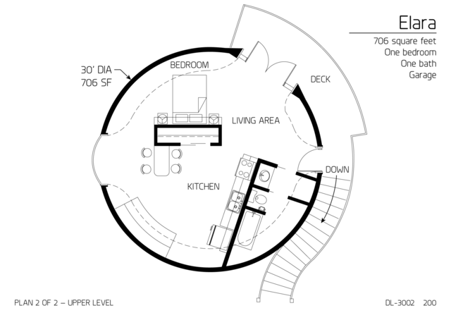Floor Plans multi level dome home designs