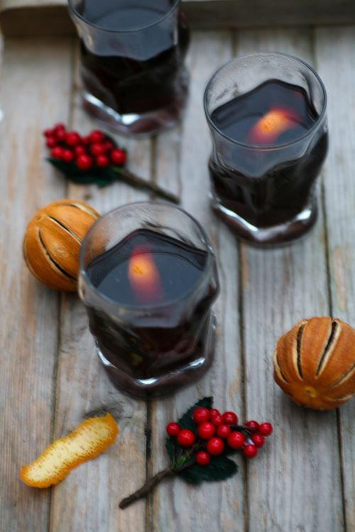 Mulled wine - how sweet life is :)