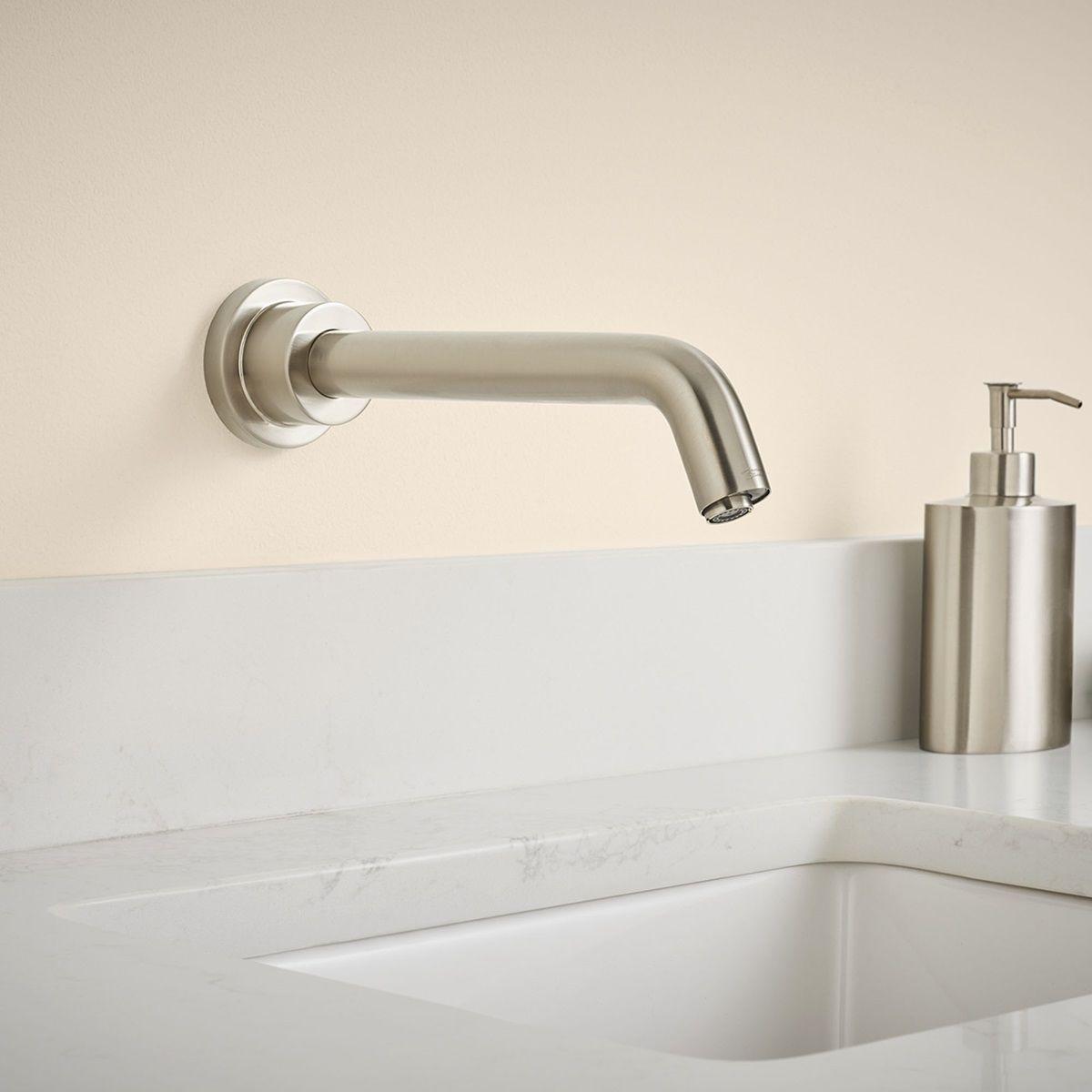 Serin Wall Mount Sensor Operated Faucet American Standard Wall Mount Faucet Bathroom Wall Mount Faucet Faucet