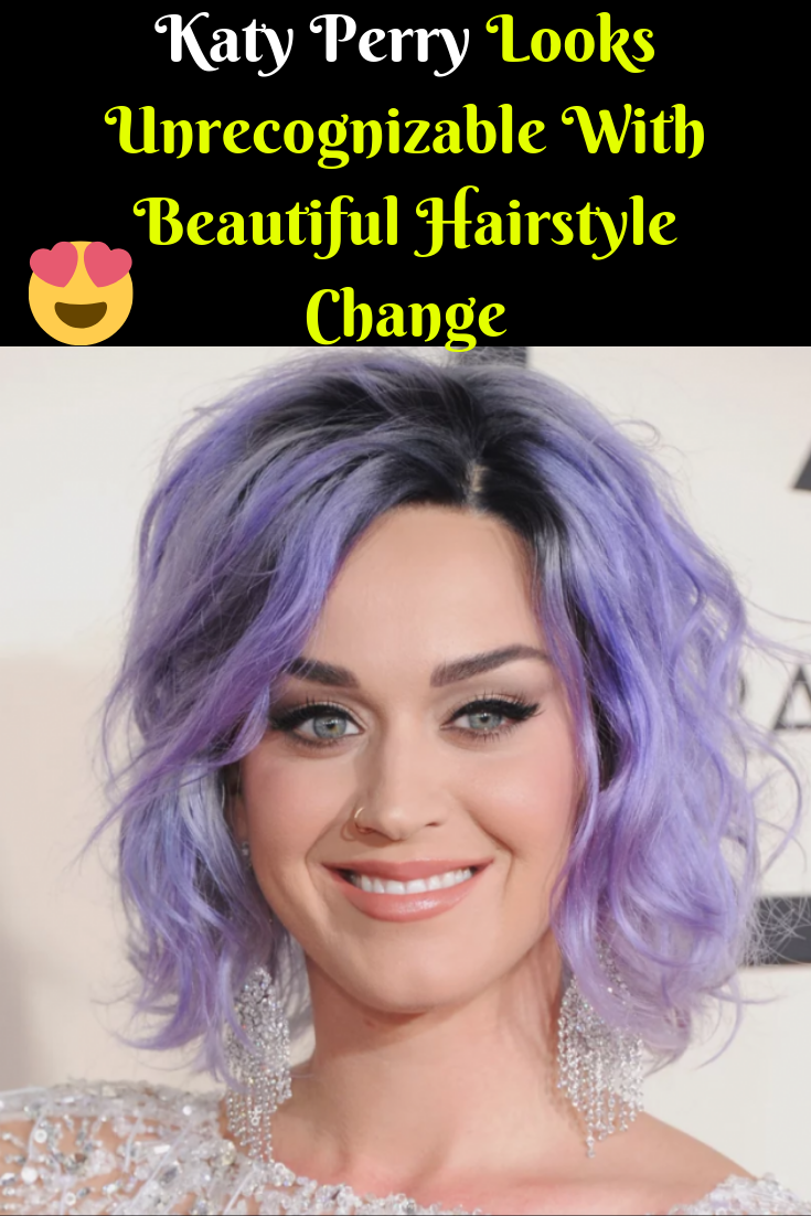 Katy Perry Looks Unrecognizable With Beautiful Hairstyle Change Beautiful Hair Katy Perry Beautiful