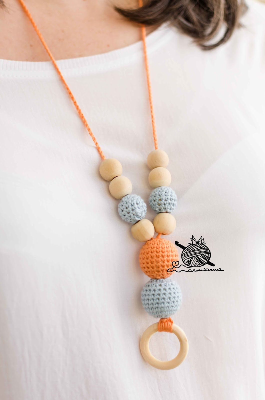 arMi-arMa: Blog | Korálky+háčkované náhrdelníky | Pinterest ...
