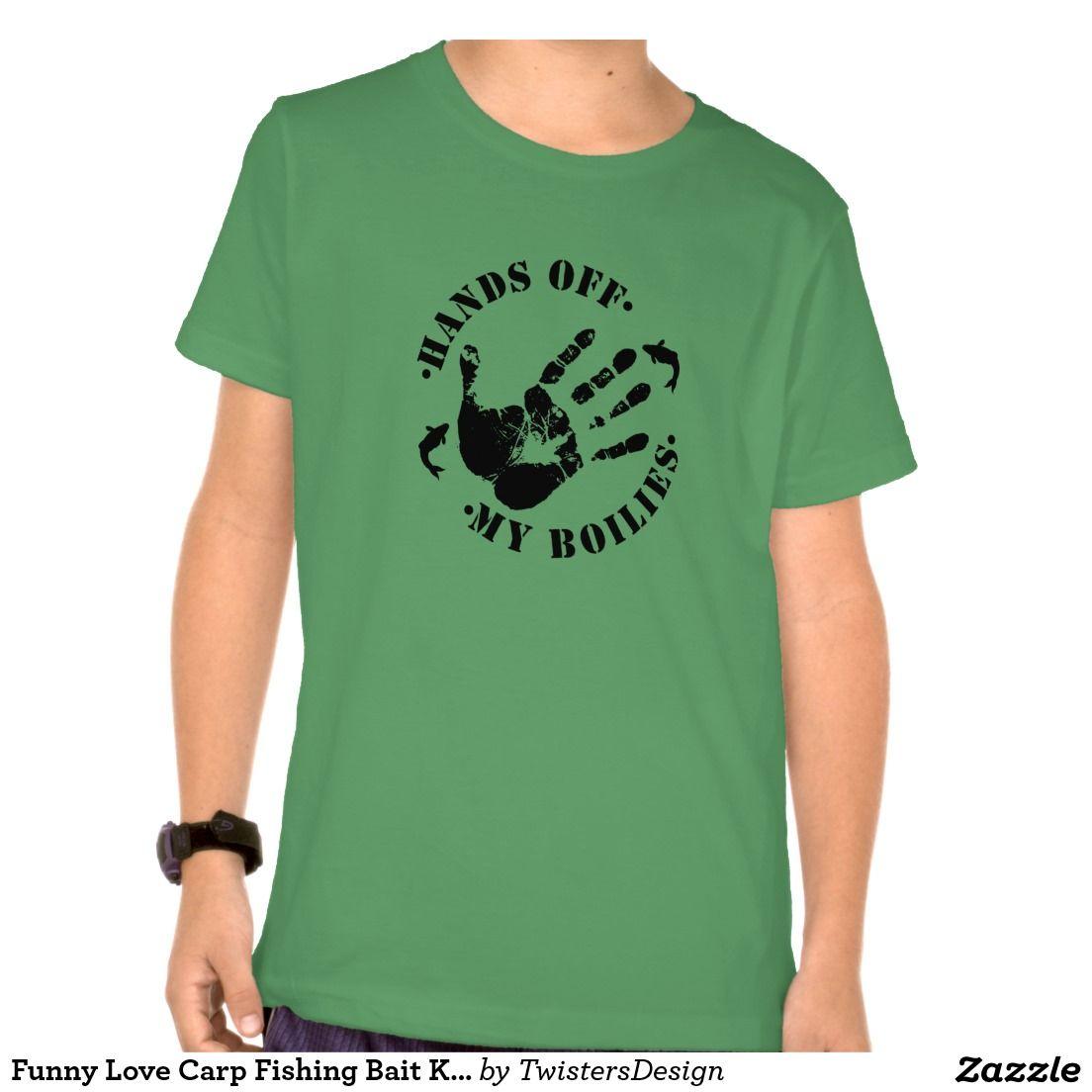 Funny Carp Fishing Bait Boilies Kids T shirt