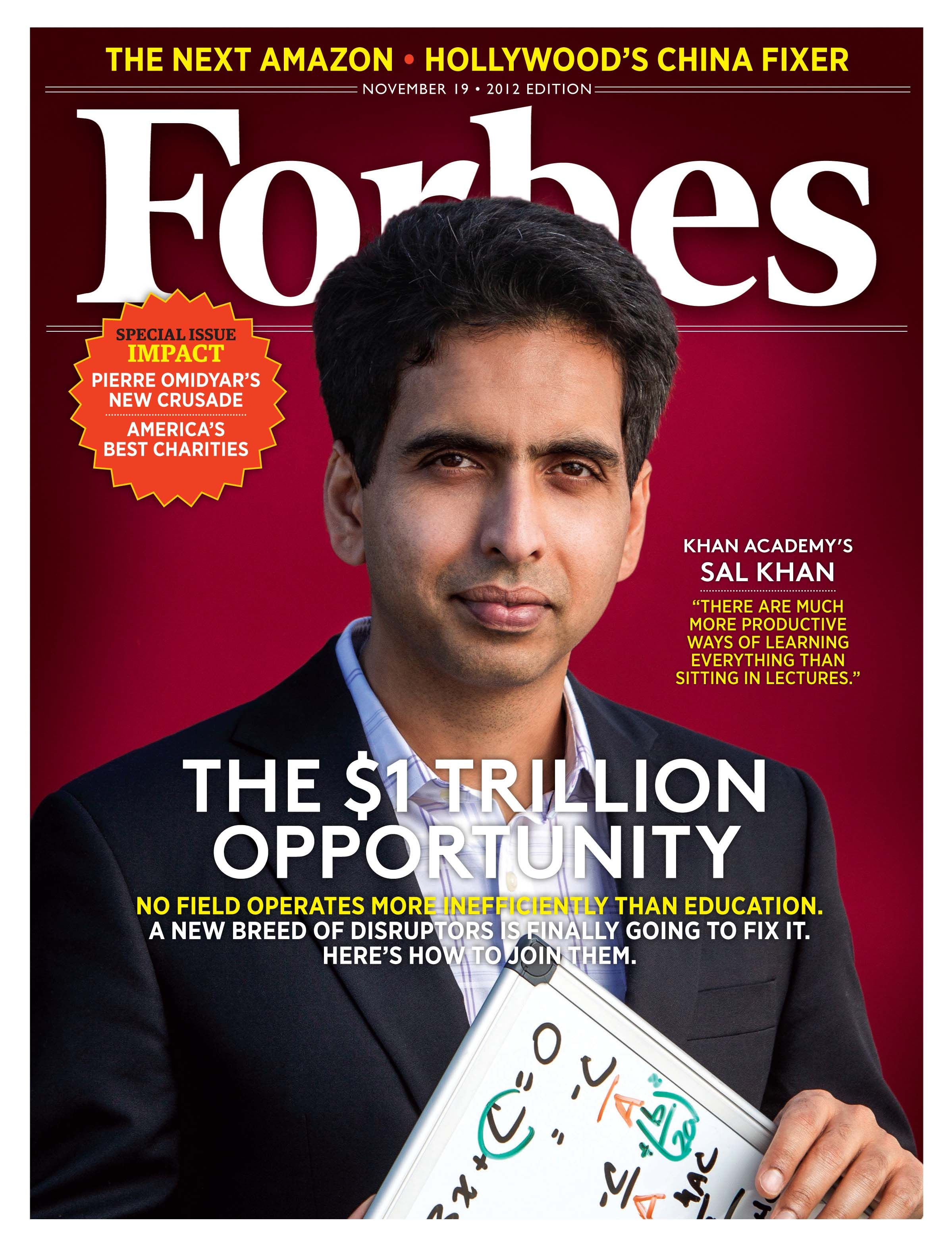One Man One Computer 10 Million Students How Khan Academy Is Reinventing Education Khan Academy Online Education Online Learning