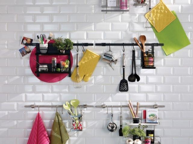 Credence Cuisine Castorama Meubles Cuisine Pinterest - Meuble de cuisine castorama pour idees de deco de cuisine