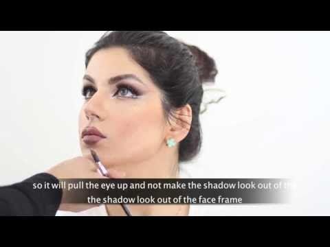 Mahlagha Jaberi Inspired Makeup By Hanan Alnajadah مه لقا جابري راهي جابر حنان النجادة Youtube Face Framing Makeup Tutorial Makeup