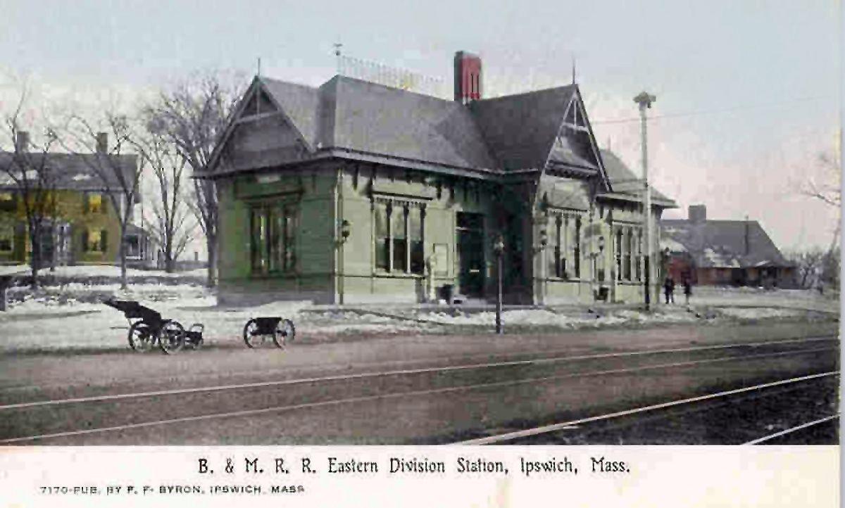 Depot Square Ipswich massachusetts, House styles, North
