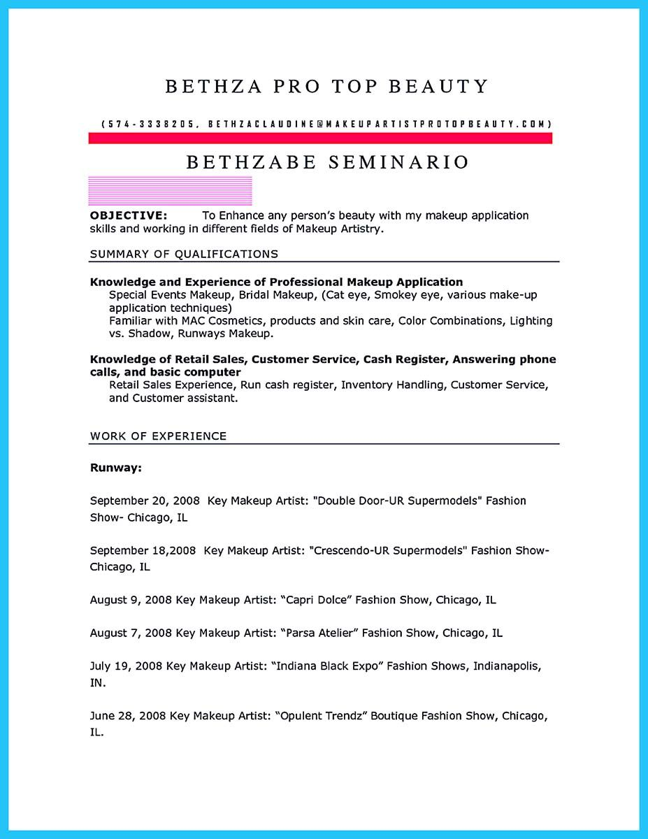 if you are an artist and you need to make a resume you need to