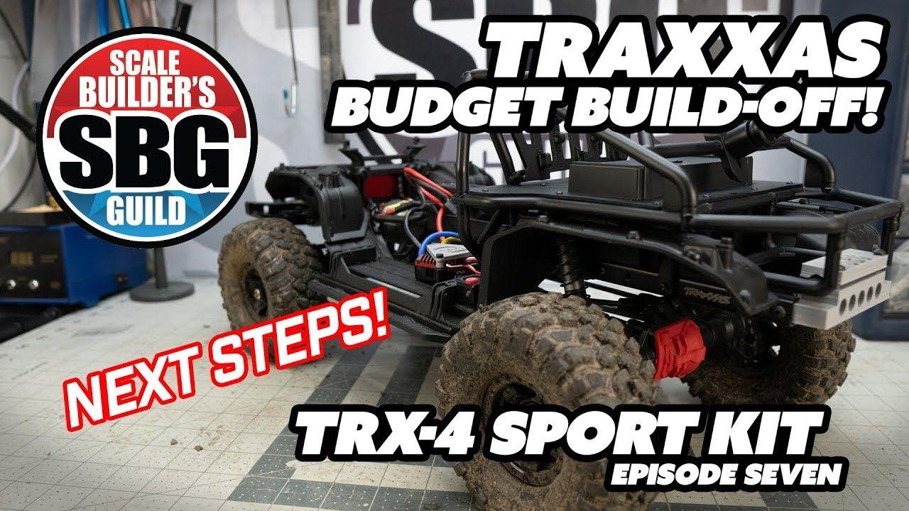 Traxxas TRX4 Sport Kit Budget BuildOff Ep7 Traxxas