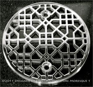 Decorative Square And Round Shower Grates Covers In A Huge Array Of Styles  Designed To Fit