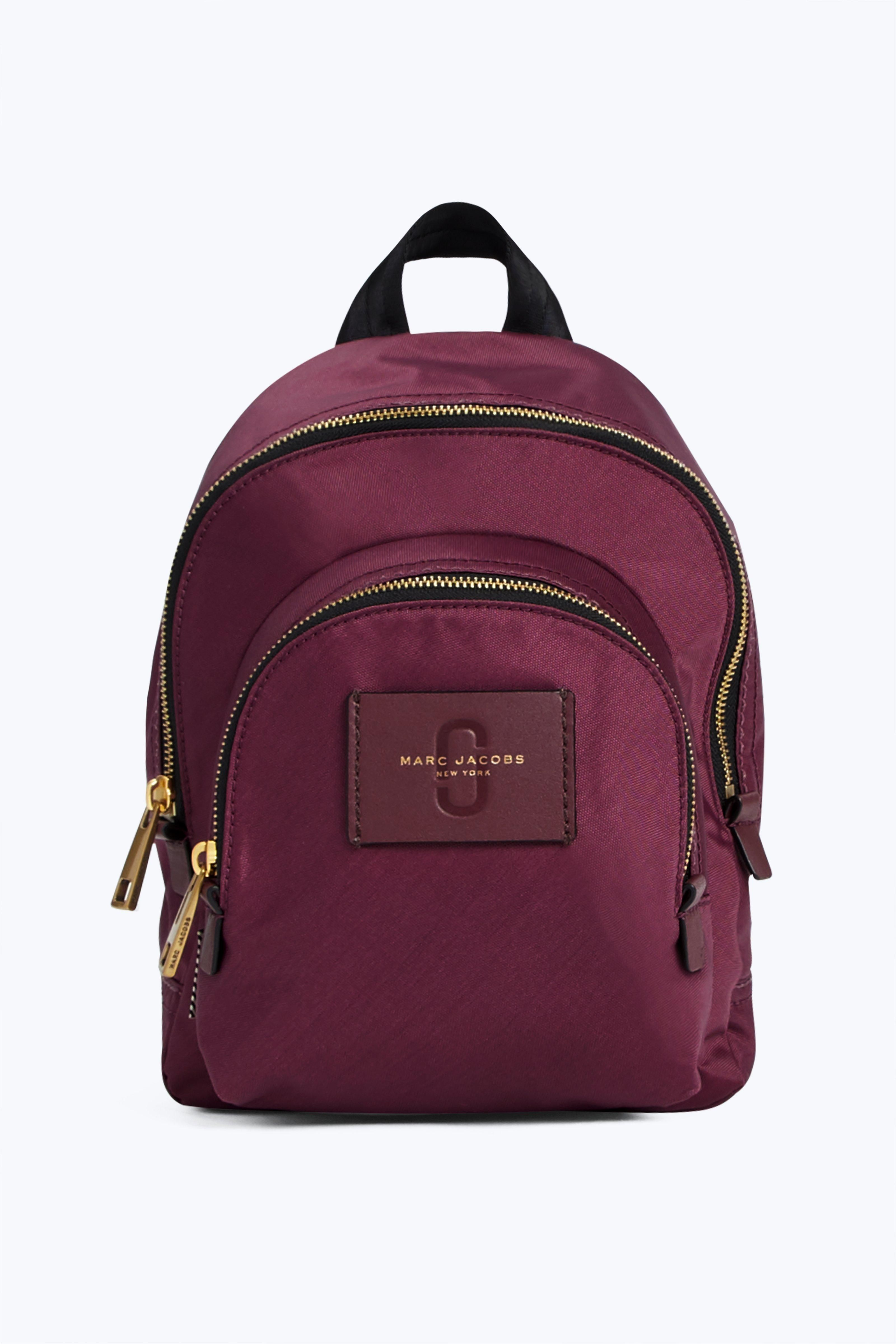 18c045971 MARC JACOBS Mini Double Zip Pack. #marcjacobs #bags #leather #polyester  #nylon #backpacks #