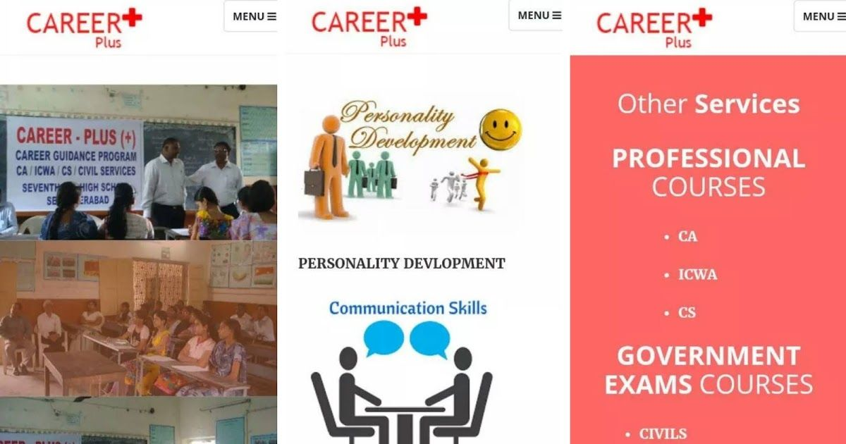 Career Plus Mobile Application