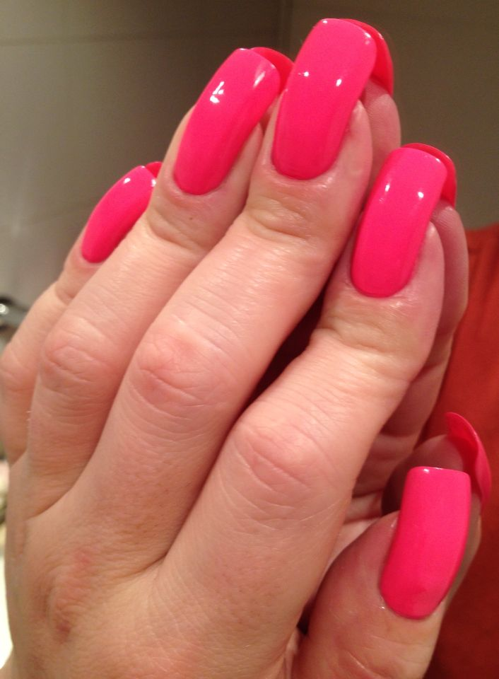 As 25 melhores ideias de Light pink acrylic nails no Pinterest