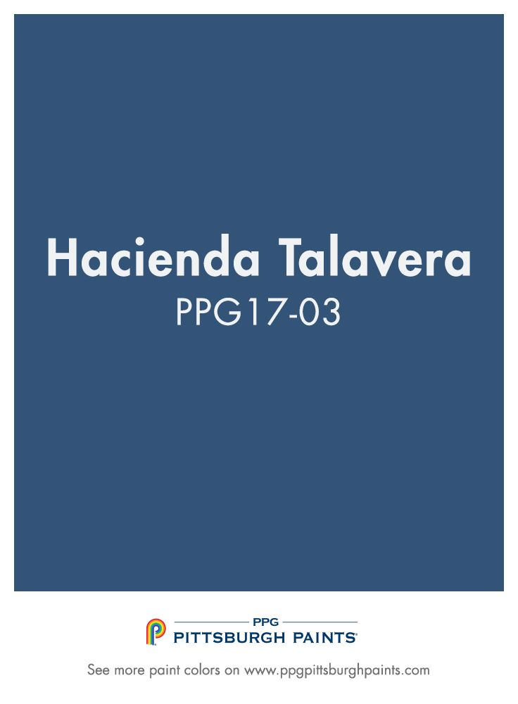 Try Bold Royal Blue Paint Color Hacienda Talavera Ppg17 03 For The Perfect Pop Of Your Front Door Updating On