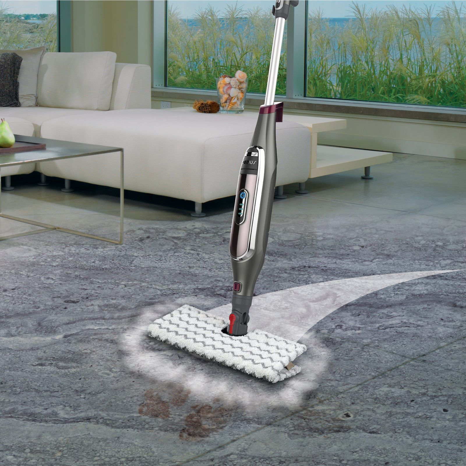 Shark Genius Hard Floor Cleaning System Steam Blaster Mop S5003A ...