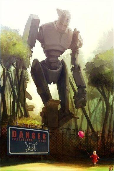 50 Amazing Piece Of Robot Artwork (Part II)