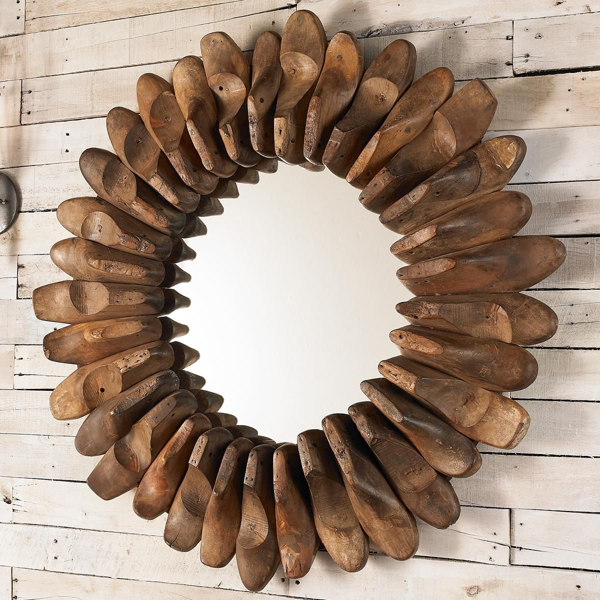 3b04f50e Antique Shoe Mold Mirror Made from real old antique wood shoe molds, each  mirror will be slightly different. A unique find for the home.  (36