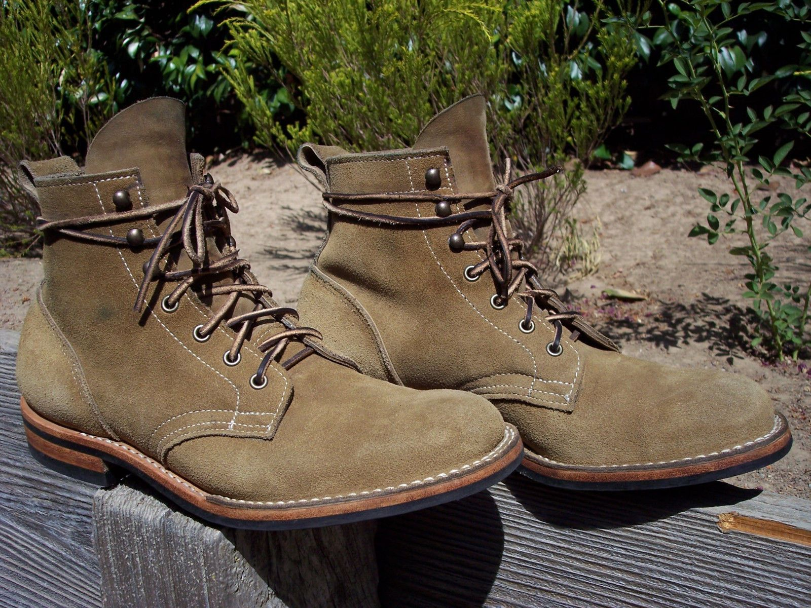 Truman Boot Co Coyote Rough Out Leather Boots Boots Leather Boots Rugged Boots