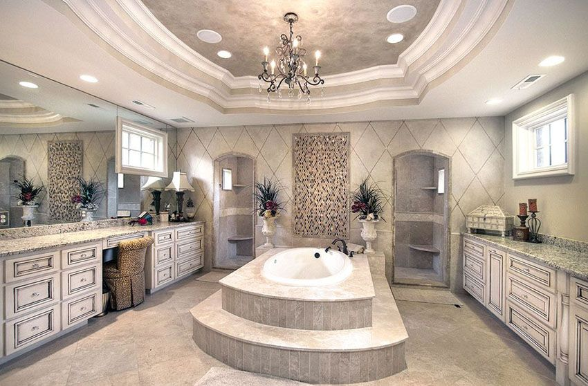 Luxurious Mansion Bathrooms Pictures Luxury Master Bathrooms