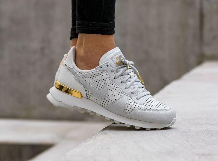 online store da698 66b6f Nike Internationalist Premium  White   Gold Metallic   internationalist   metallic  premium  white