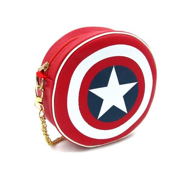 Captain America Marvel Comics Boy/'s Men Superhero Retro Shield Jump Suspenders