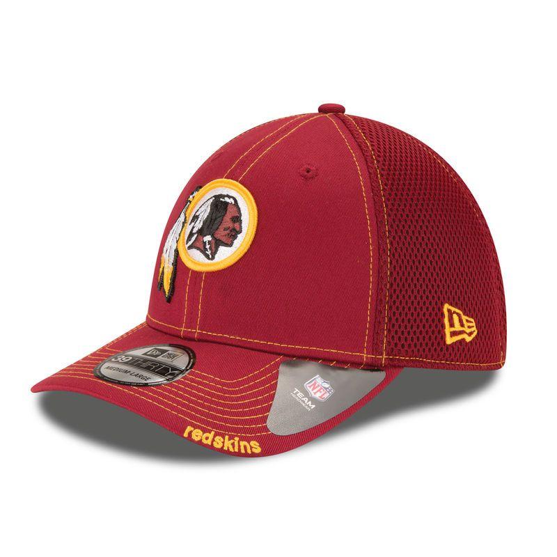 Washington Redskins New Era Neo 39THIRTY Flex Hat - Burgundy ... cdce7dae2
