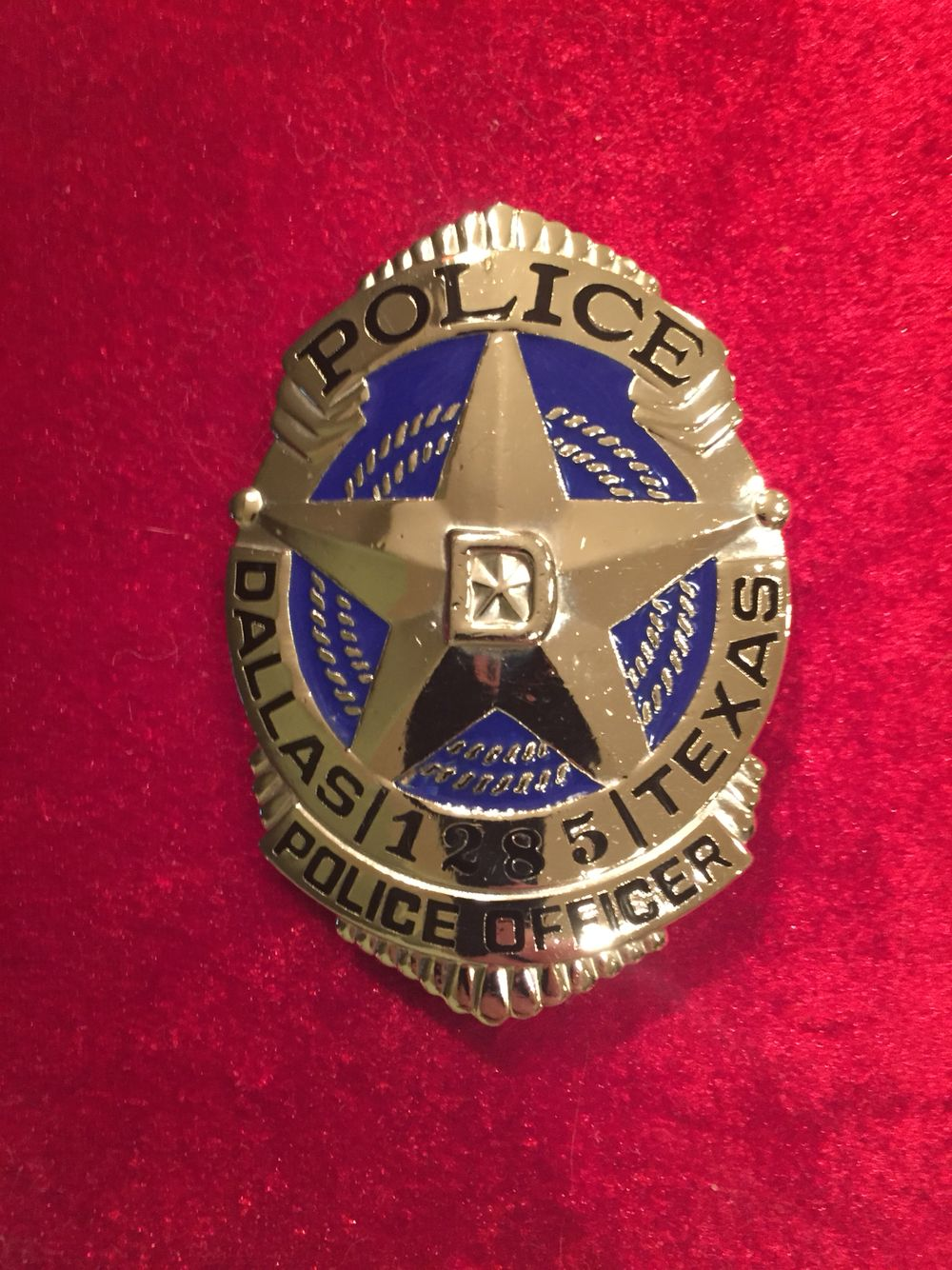 dallas texas police officer badge police fire ems