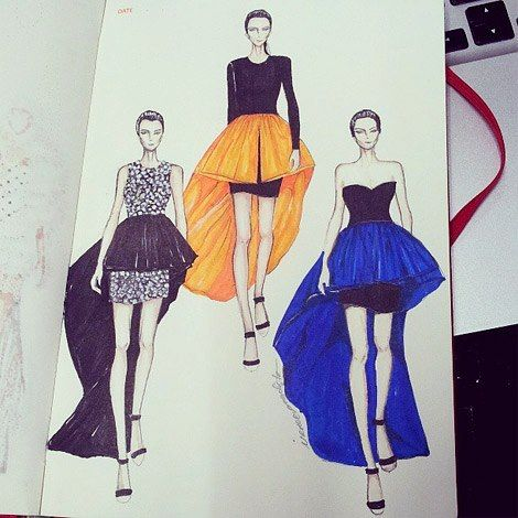 Poll Fashionary Illustration Fashion Design Fashion Art Illustration Fashion Illustration
