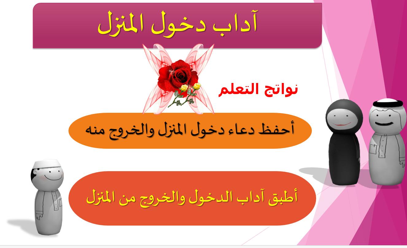 آداب دخول المنزل الصف الرابع مادة التربية الاسلامية بوربوينت Movie Posters Movies Poster