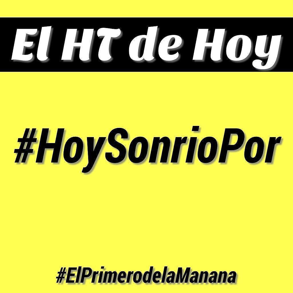 #BuenosDias hoy te invitamos a interactuar con nosotros con el #HTDEHOY  #HoySonrioPor  Y escuchanos a través de la #885RitmicaFM @ritmicafm www.ritmicafm.com #ElPrimerodelaManana