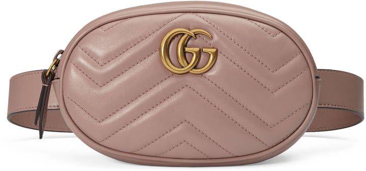 GG Marmont matelassé leather belt bag  gucci  fannypack  fannybag   guccibelt  gg  guccibag a41f03a08ed
