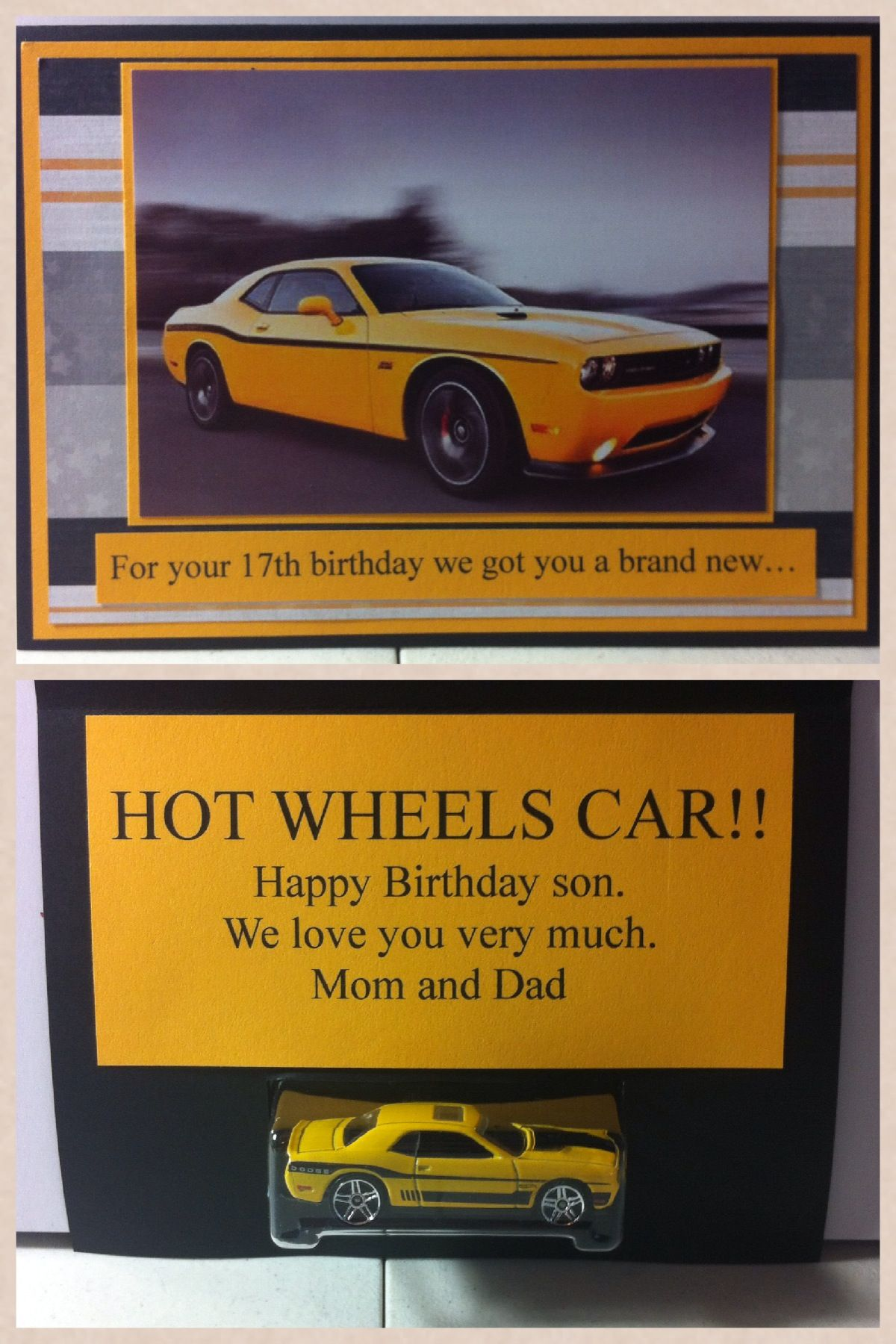 Birthday Card For My 17 Year Old Son