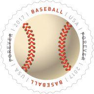 Usps Have A Ball Forever Stamp Baseball Forever Stamp 2017
