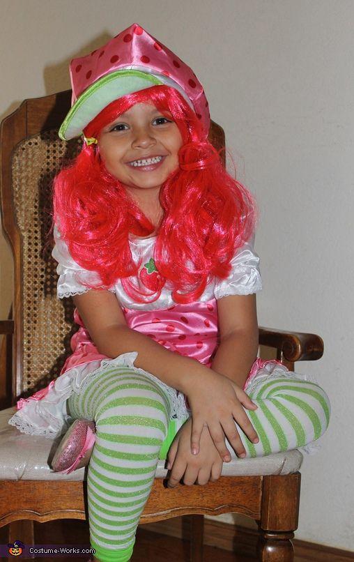 Strawberry Shortcake - Homemade costumes for girls