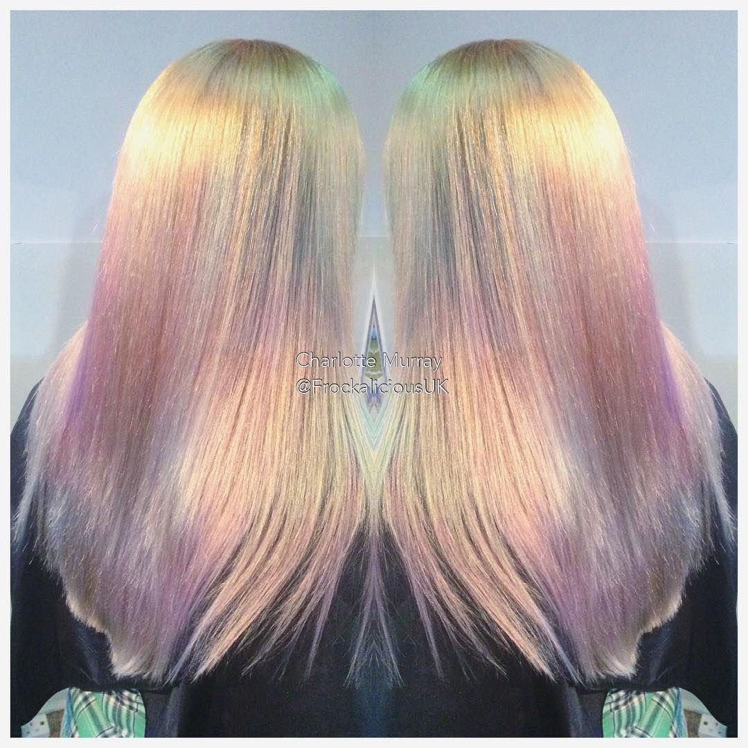 Outstanding, Iridiscent, Pearlescent, Opal hair color ...