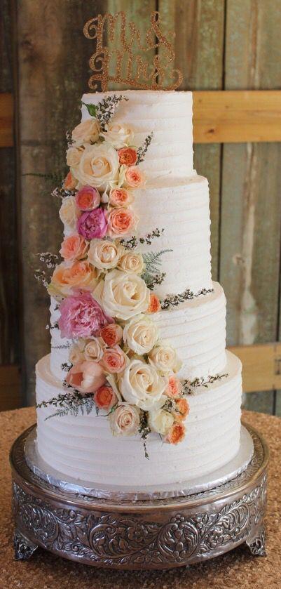 Delightful Bites Bakery Wedding Cake Augusta GA