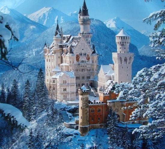 Another Snowy Schloss Neuschwanstein Bavaria Germany Neuschwanstein Castle Germany Castles Beautiful Castles