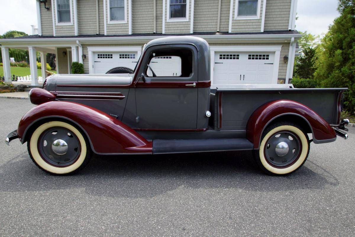 1937 Dodge Ram 1/2 Ton Pick Up | Pickup trucks, Vintage