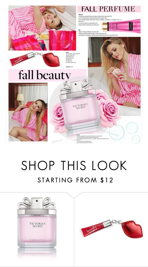 """victorias secret"" by soyance ❤ liked on Polyvore featuring beauty, Victoria's Secret, VictoriasSecret and fallscent"