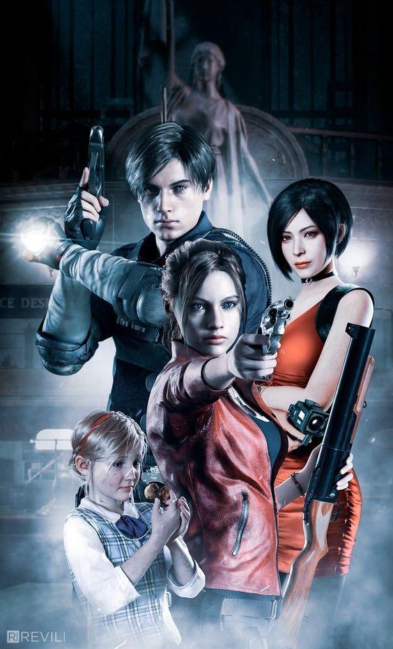 Resident Evil Game Wallpaper Art Residentevil Cosplayclass