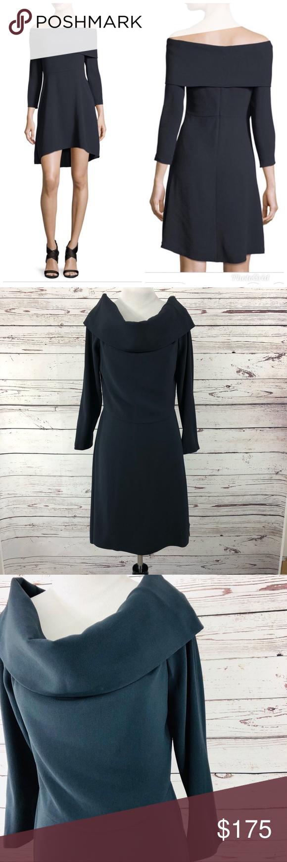 13bc68e2e7 Theory Off The Shoulder Long Sleeve Elegant Maxi Dress - Data Dynamic AG