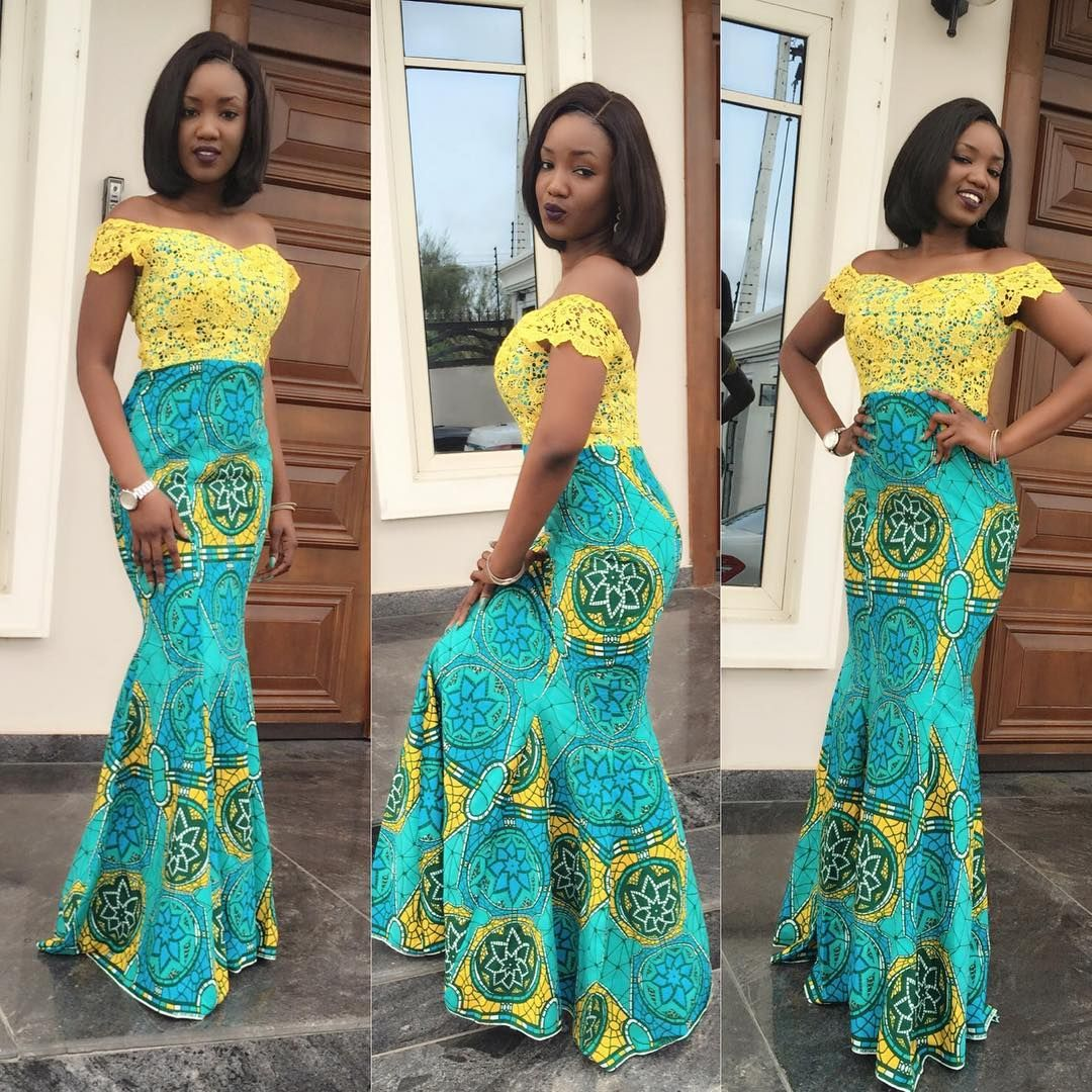 Look 5: @posibaby in outfit by @elanfashion_ng | African fashion ...