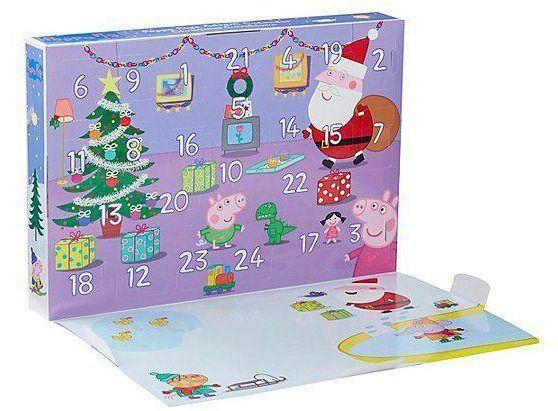 Peppa Pig Advent Calendar Calendar Countdown Blogger Bblogger