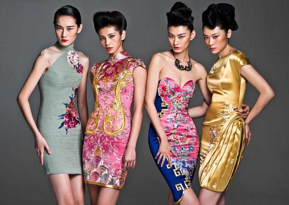 Pin de Sarah Pak en Beautiful Chinese women-qipao   Pinterest ...