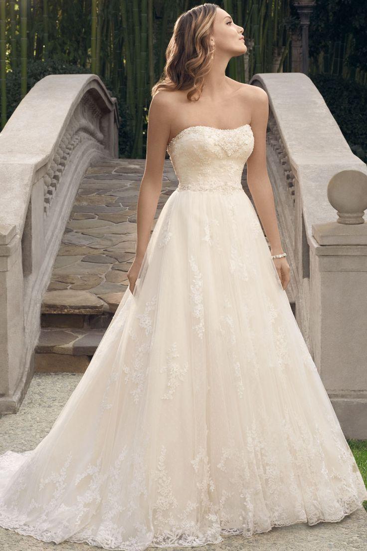 Wedding gown by casablanca bridal wedding ideas pinterest