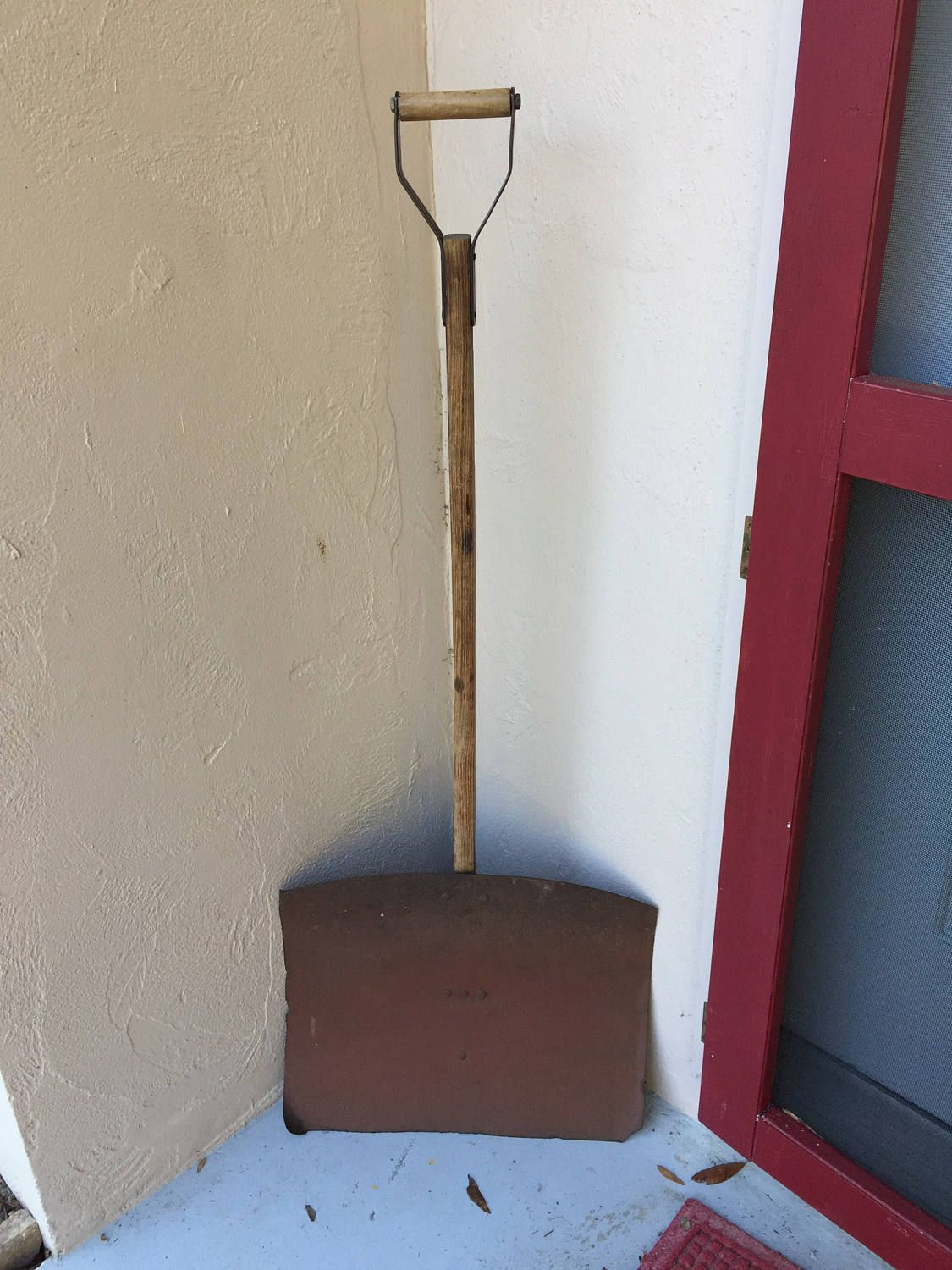 Snow Shovel Steel Snow Shovel Antique Snow Shovelwood Handle Snow