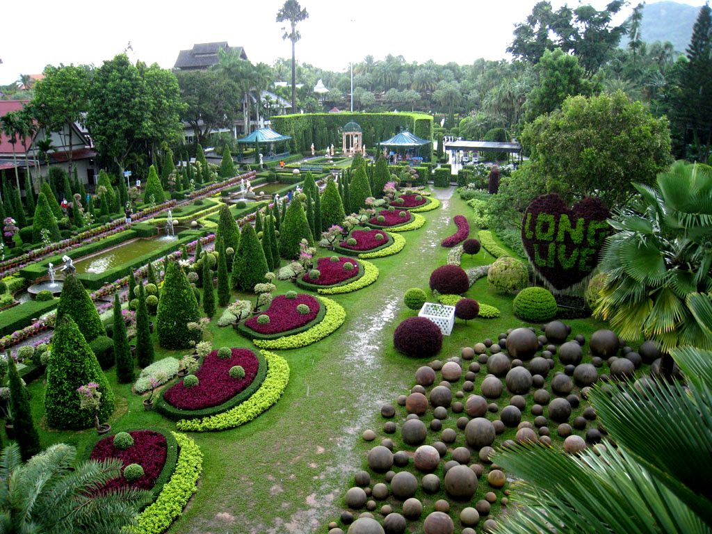 Jardines De Tailandia Lugares Jardines Jardin Botanico Gijon Y