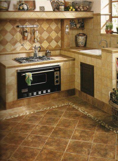 Hi Tech Kitchen Kitchen Flooring Floor Design Tile Design