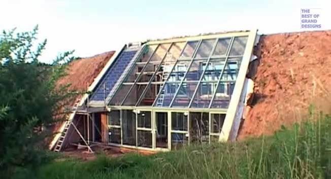 grand designs house built into hill - Google Search ...